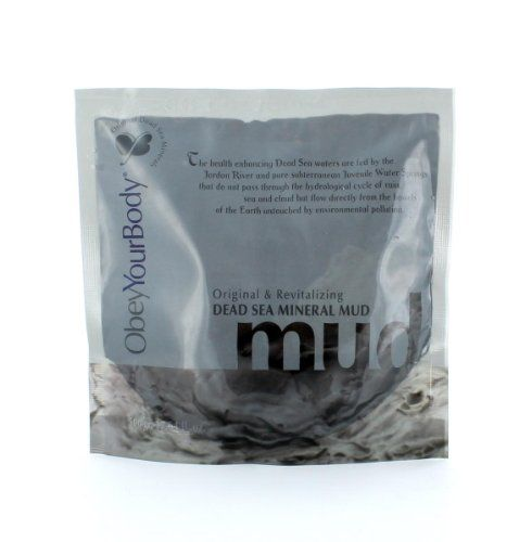 Obey Your Body Original & Revitalising Dead Sea Mineral Mud - http://best-anti-aging-products.co.uk/product/obey-your-body-original-revitalising-dead-sea-mineral-mud/