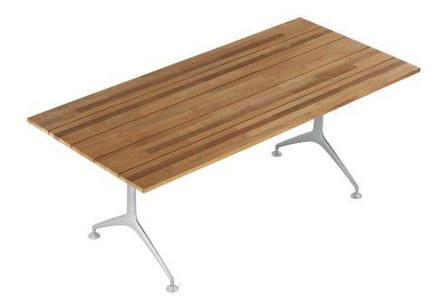 Versandkostenfrei online bestellen: Klappbarer Gartentisch Teak Table 200F von Alias