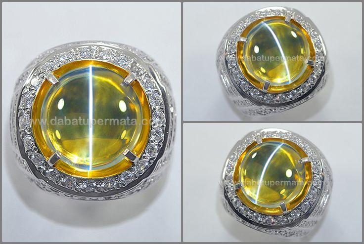 Super Crystal Body Glass. CAT'S EYE. Tali Tajam + Mulus, Sangat Langka - CE 127
