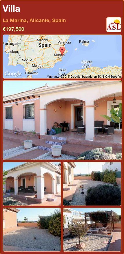 Villa in La Marina, Alicante, Spain ►€197,500 #PropertyForSaleInSpain