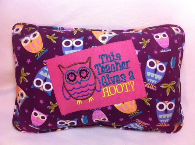 Teachers Pillow This Teacher Give A Hoot Owls Owl School Pillow by IsidoraDesigns on Etsy
