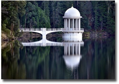 Maroondah Dam -Water Tower-Melbourne, Australia