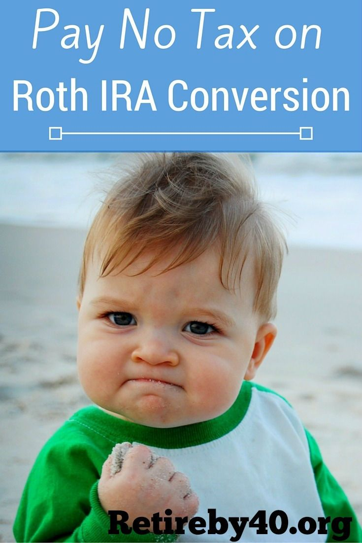 What if I tell you there is a way to pay no tax on Roth IRA conversion? How can this be legal?