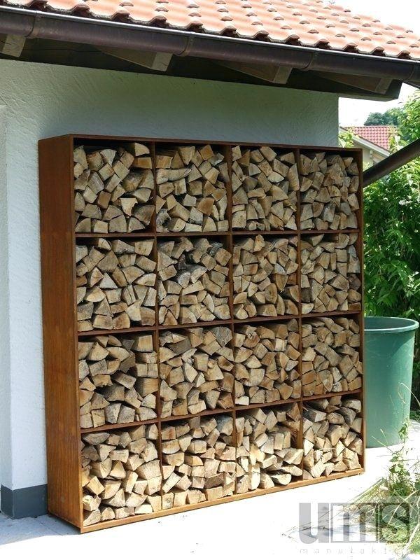 Beste Möglichkeit, Brennholz zu speichern