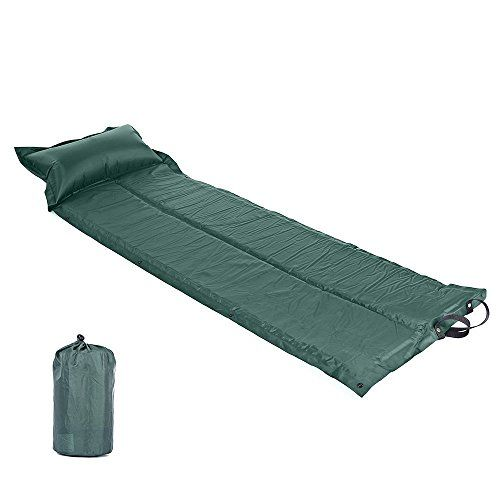 COPARK Air Mat Mattress SelfInflating Camping Sleeping Pad Portable Single Bed With Built In Pillow Lightweight