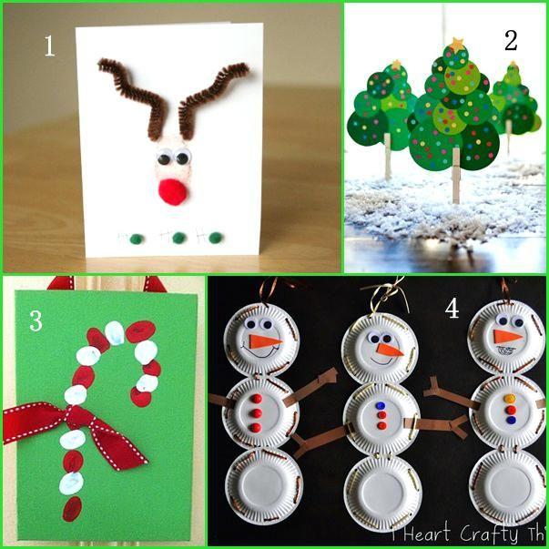 Easy Kindergarten Christmas Craft Ideas Crafts Handmade Design Toddler Ornament Simpl Preschool Christmas Crafts Christmas Crafts Kindergarten Christmas Crafts