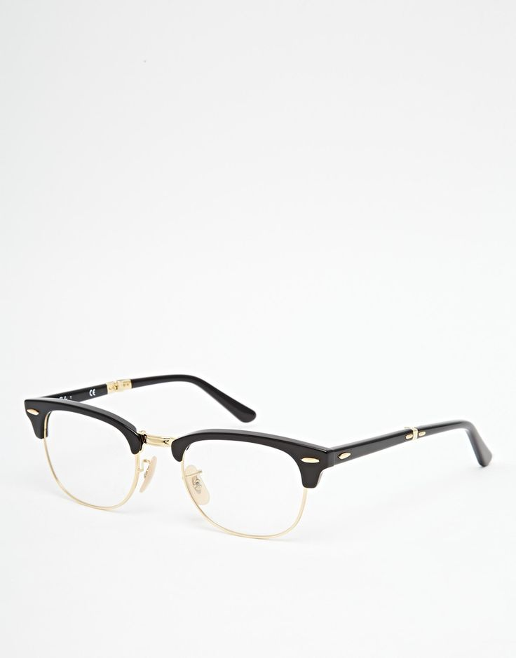 Ray-Ban Clubmaster Glasses 0RX5334 2000 51