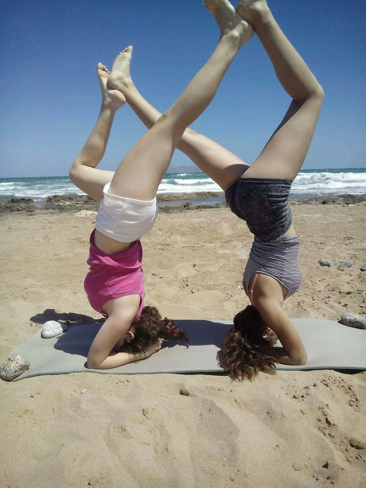#yoga #infinite #summer #BFF #beach #fitness