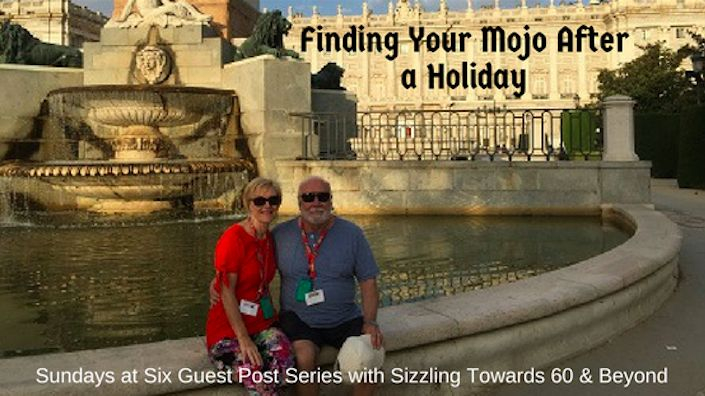 Recently, my husband and I took a five-week holiday, exploring Spain and Italy. For the first time we came home TIRED after our holiday. It took a long while for us to get over jet lag. After sampling the wonderful food and sangria, I felt bloated and uncomfortable. I felt out of sorts and didn't have motivation