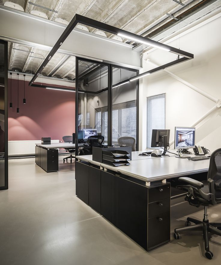 Supermodular sld50 profile lighting at our very own offices in amstelveen the netherlands