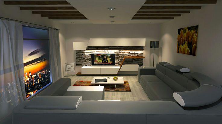 Tv ünitesi  #3dsmaxdesign #salontakimi #cizim #tvünütesi #dairesalonu #tasarim #mobilyaci #gorselcizim  www.senolarslan.com  senolarslan37@hotmail.com
