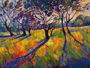 Красочный импрессионизм в пейзажах американской художницы Erin Hanson   Ярмарка Мастеров - ручная работа, handmade