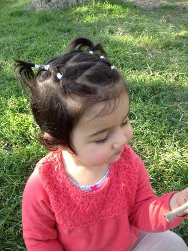Babies Hair Style Cuteshortgirlhairstyles Baby Girl Hair Hair Styles Baby Hairstyles