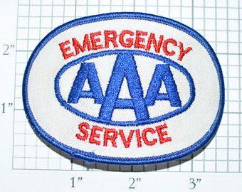 AAA Emergency Service Auto Club Roadside Assistance Vintage