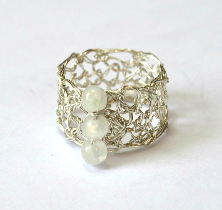 21 best Knit wire jewelry images on Pinterest | Wire jewelry, Wire ...