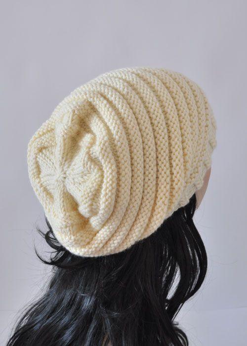 Вязание шапки-чулок