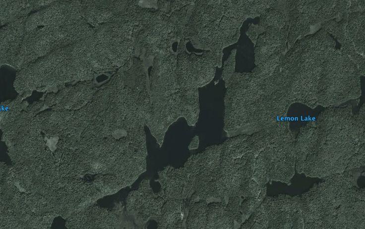 McGarvey Lake, Google Earth