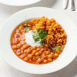 Curry z ciecierzycy | Kwestia Smaku