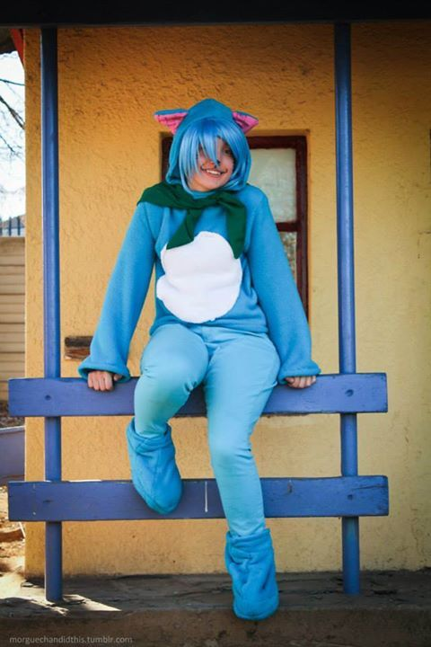 My Happy cosplay from Fairytail