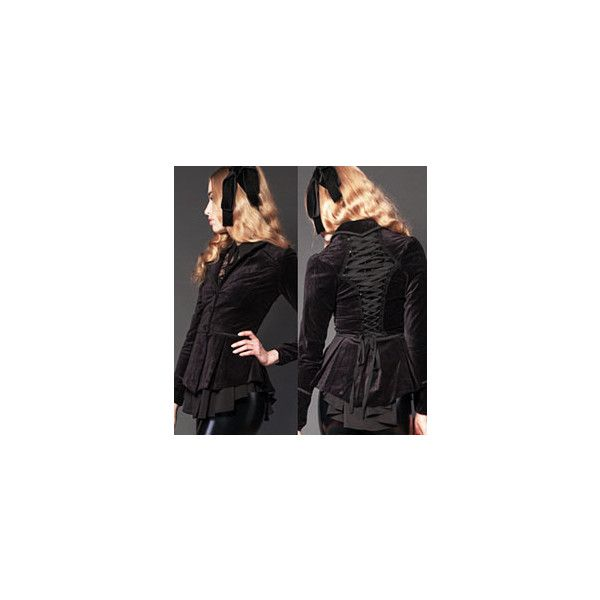 Ipso Facto Women's Gothic, Punk, Steampunk, Coats, Jackets, Hoodies,... ❤ liked on Polyvore featuring outerwear, coats, victorian coat, goth coat, punk coats, gothic coat and steampunk coat