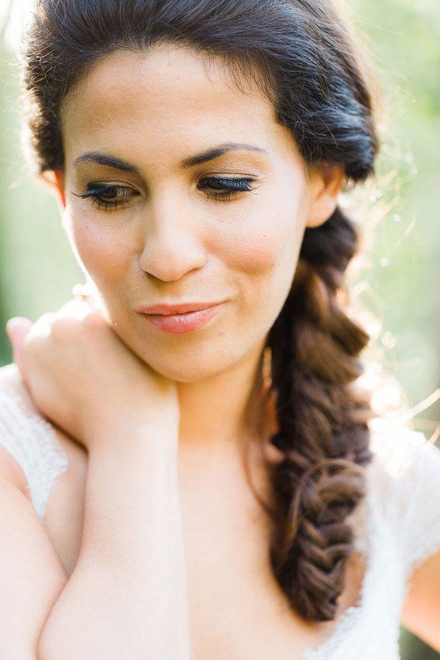 #bruid #bruidsmakeup #make #up #look #inspiratie #bride #inspiration | Photography: Anouschka Rokebrand | ThePerfectWedding.nl
