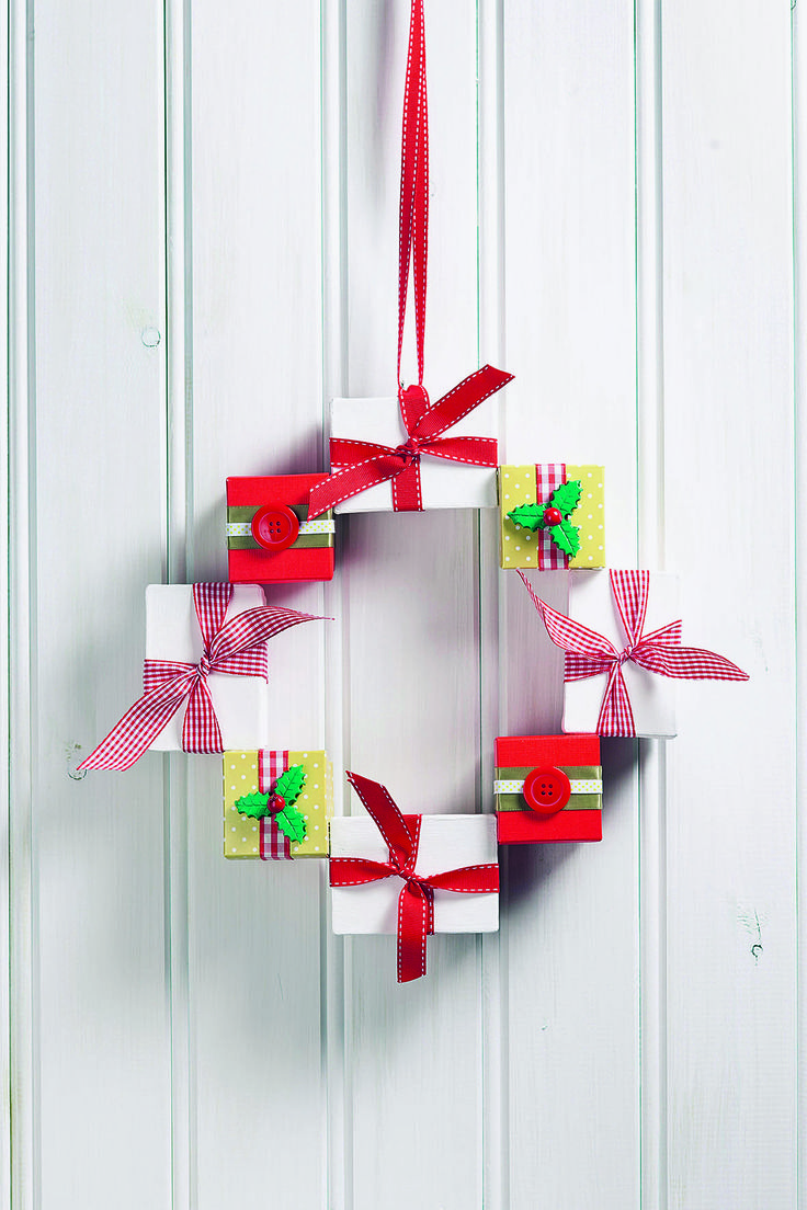 Best 8 MAKE IT: Christmas crafts ideas on Pinterest | Home magazine ...
