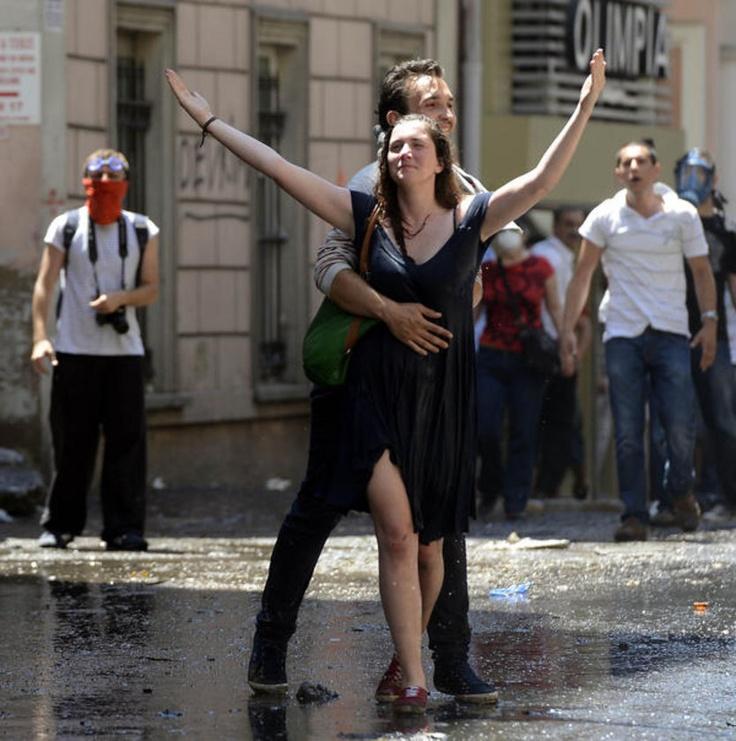 Gezi'ye damga vuran kadınlar!