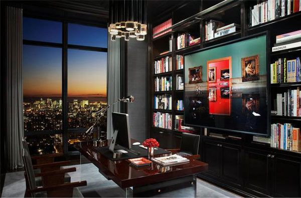Penthouse atop Trump World Tower Sports Excellent Design