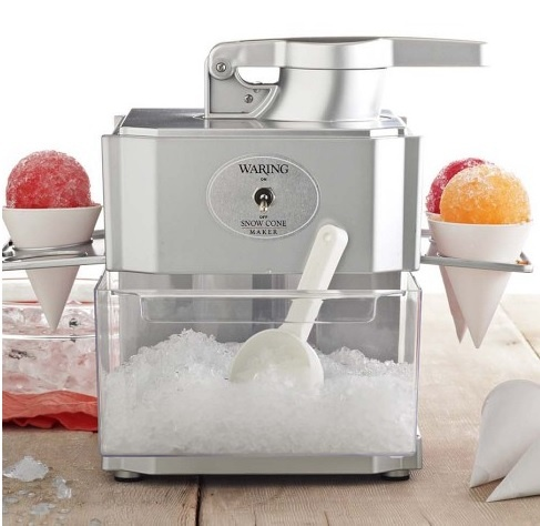 Guy dumbass new orleans shaved ice machine can