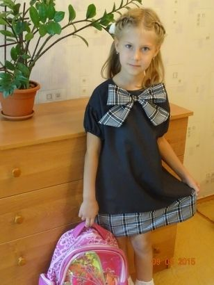 Школьный гардероб: платья с коротким рукавом / Фотофорум / Burdastyle
