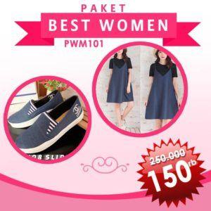 Paket Best Women Boho Navy
