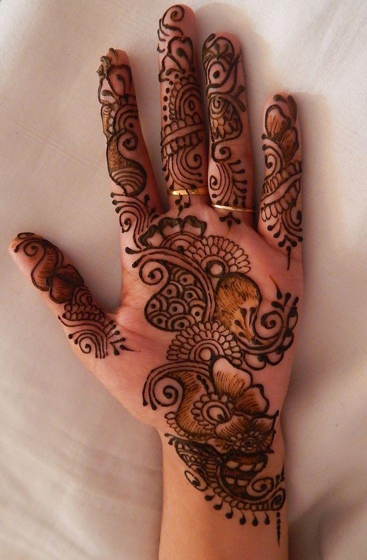 Simple Mehndi Designs For Hands 2015