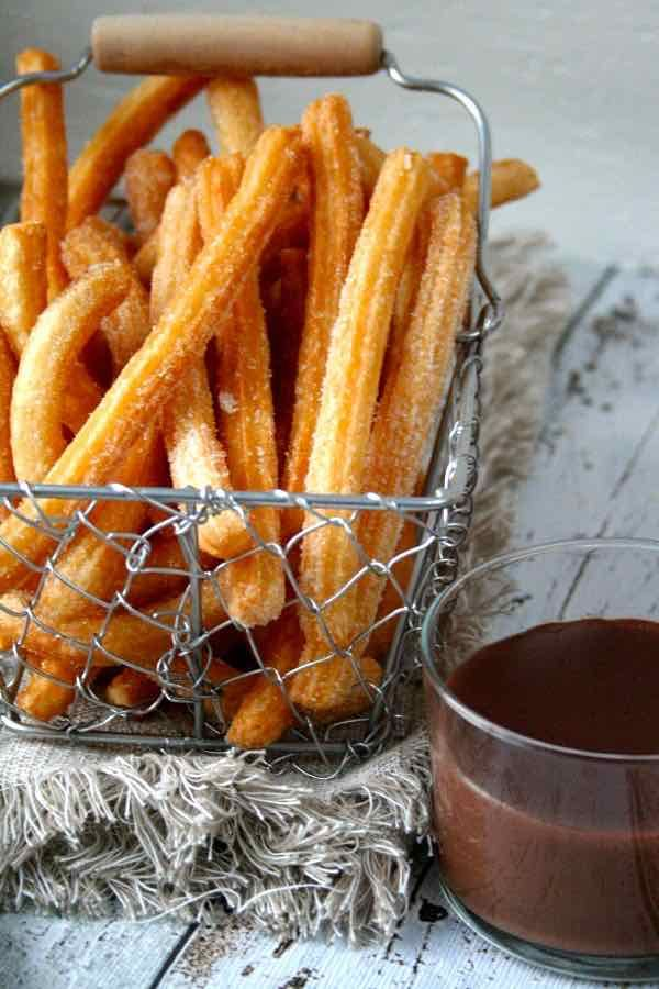 Chocolate con Churros - Authentic Spanish Recipe