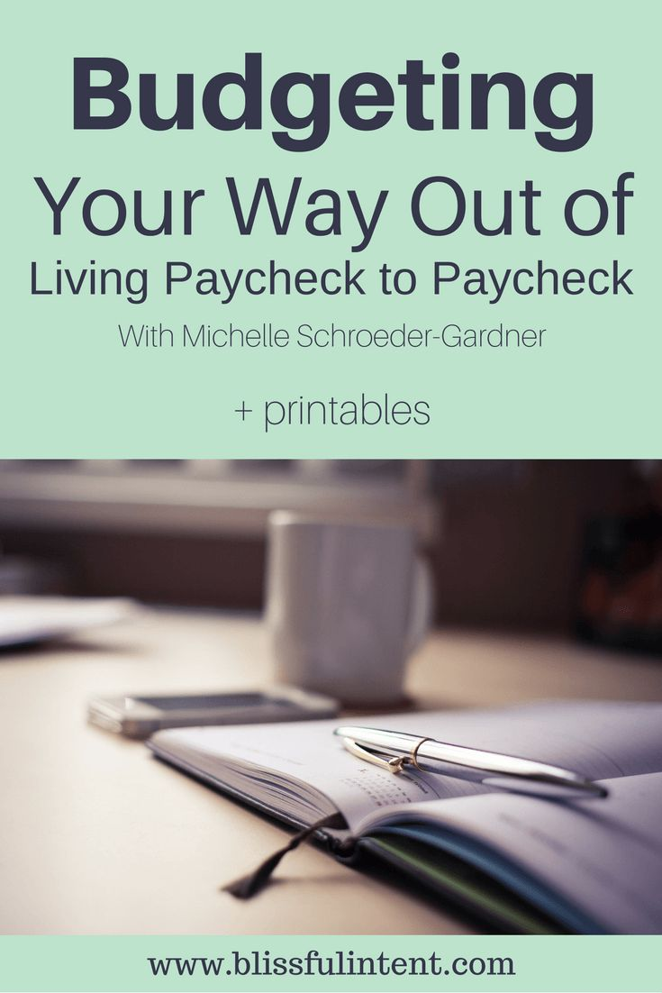 Living paycheck to paycheck can be stressful. It can be even more stressful when you've tried to budget your finances and it just doesn't work out for you.
