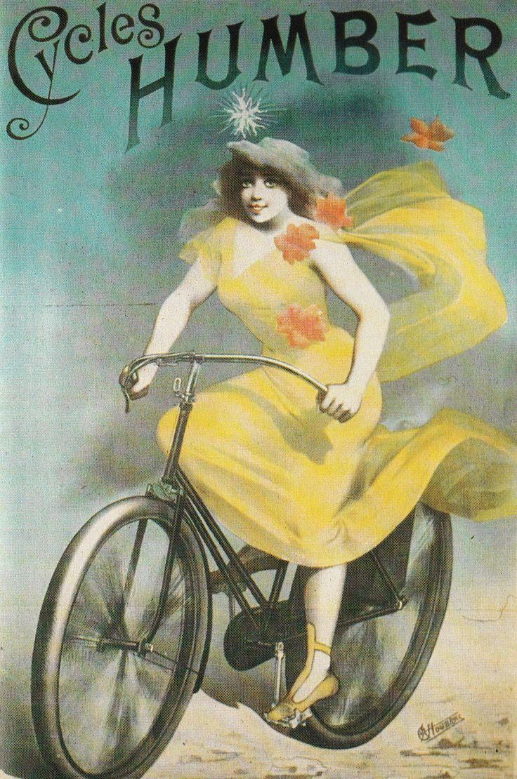 Vintage bike ad Humber cycles