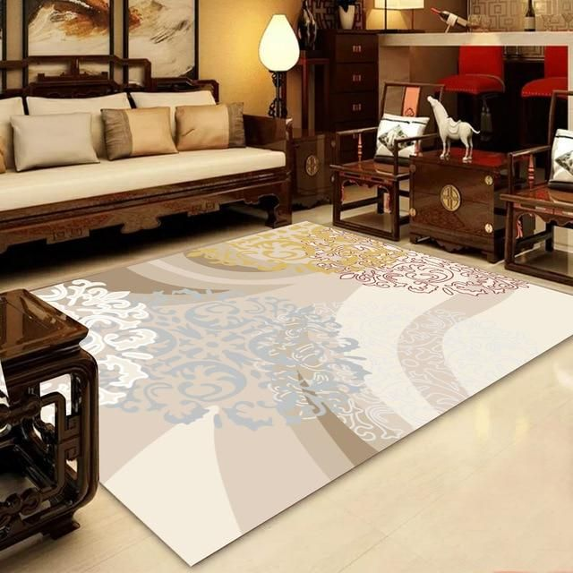 Modern Nordic Memory Foam Rug Warmly Rugs In Living Room Home