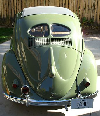 split window vw bug | Auction #140869568421 - 1952 Volkswagen Beetle Split Window Bug VW ...