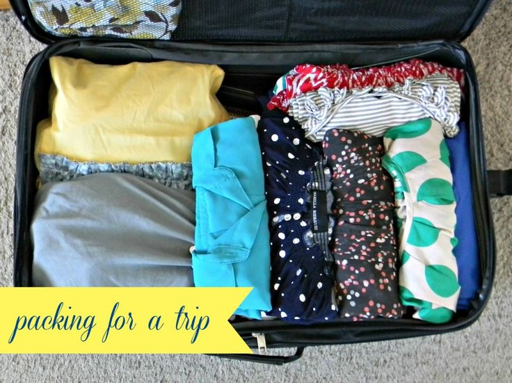 Packing For a Trip - Organize and Decorate Everything