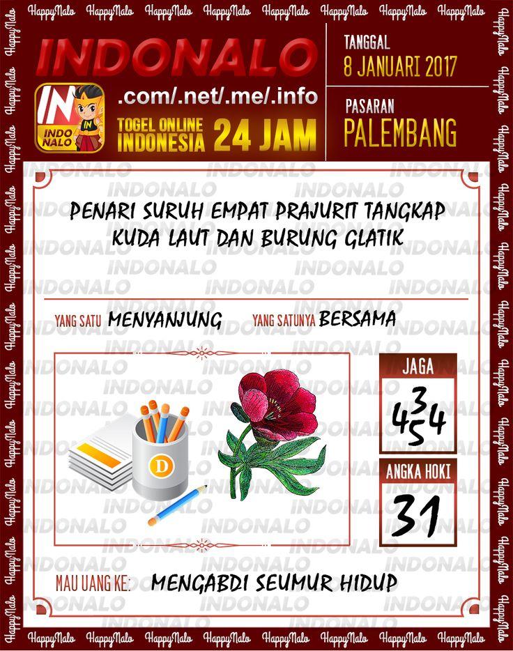 Kode Jaga 4D Togel Wap Online Live Draw 4D Indonalo Palembang 8 Januari 2017