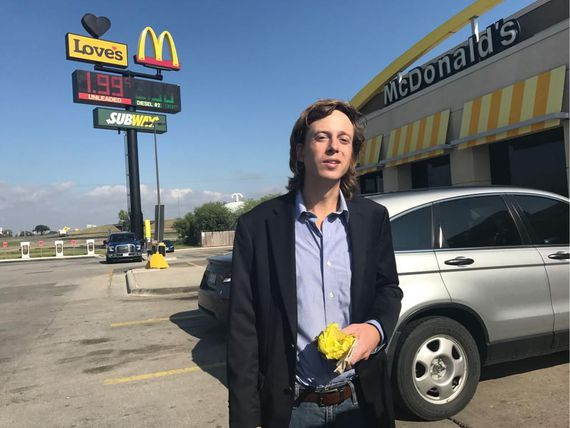 Journalist linked to Anonymous released from prison     - CNET Barrett Brown a free man after four years behind bars enjoys an Egg McMuffin on Tuesday. Photo by                                            Free Barrett Brown/Twitter                                          Barrett Brown a journalist who served as an unofficial spokesman for various Anonymous hacking operations was released from prison Tuesday after serving more than four years behind bars for sharing stolen data and…
