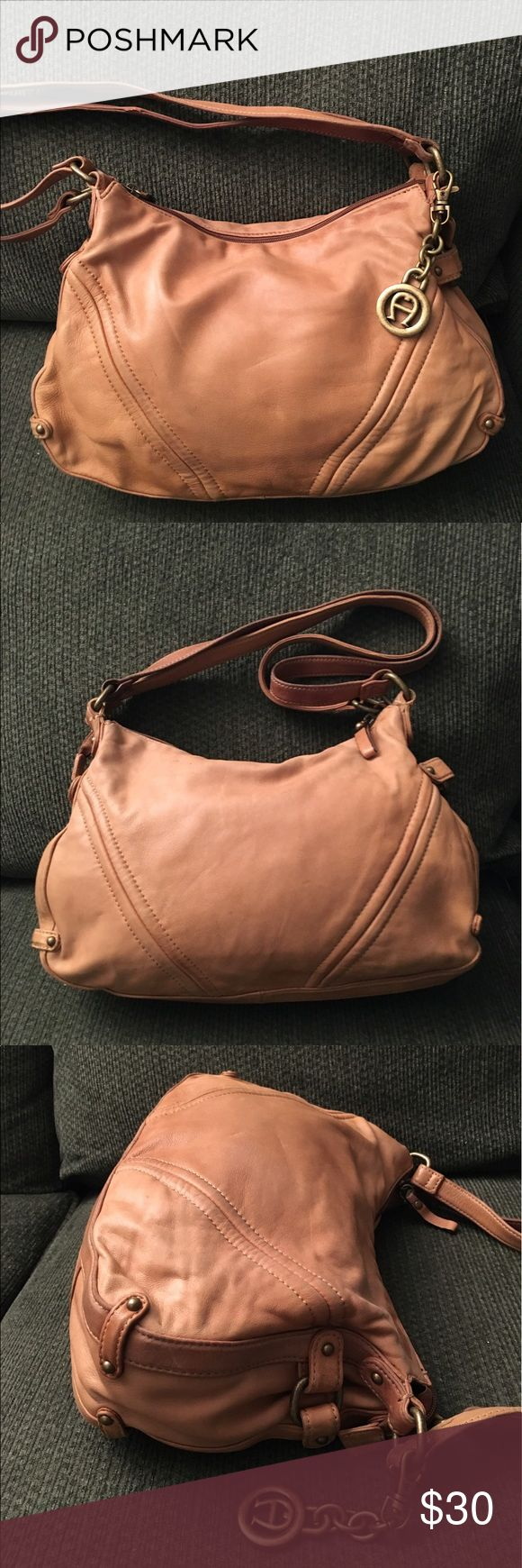 Etienne Aigner Camel Leather Handbag Purse Nice pre-owned soft leather handbag. There is wear on the straps. Please see pictures. Etienne Aigner Bags Shoulder Bags