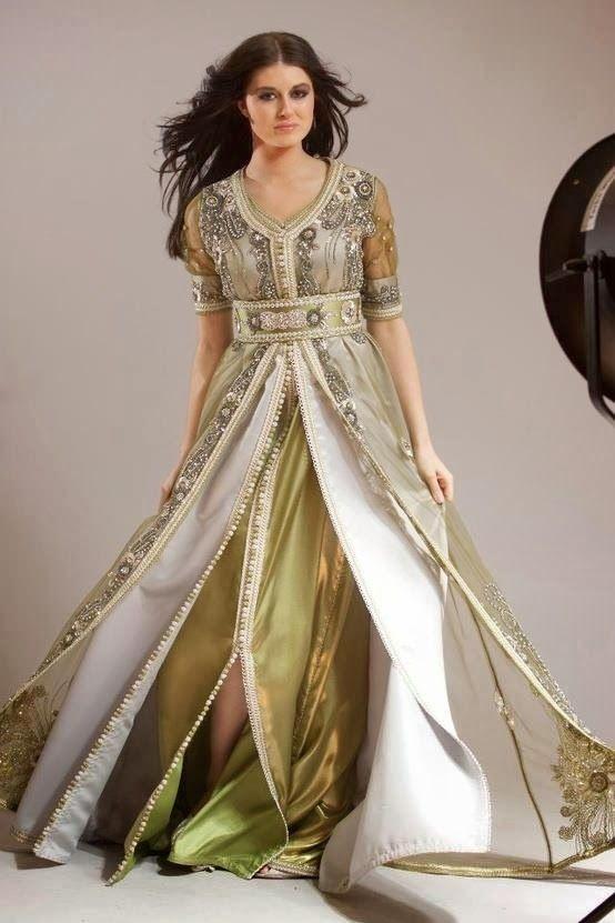 Caftan 2013 en Sari - Caftan Marocain de Luxe ~ Caftan Haute couture : Boutique…