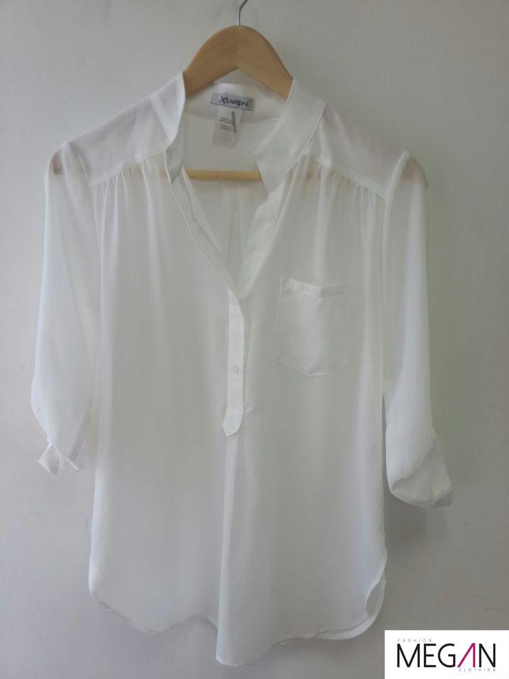 #shirt #blusa #básica #white #fashion #girl #fashionmegan