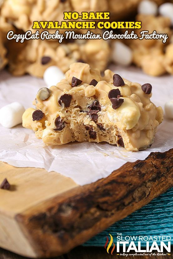 No Bake Avalanche Cookies by The Slow Roasted Italian