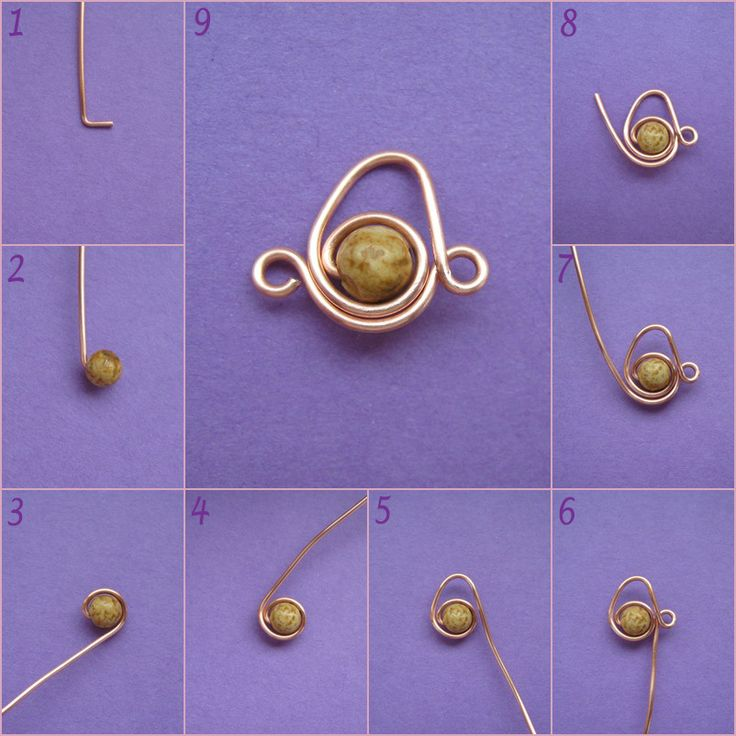 instructions for making wire & stone or bead jewelry.  Original page is in Hungarian but it translated quickly.  Lots of good stuff here.
