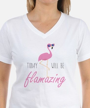 e126c90a7cc47 Today Will Be Flamazing Shirt for | Flamingo fun | Flamingo shirt ...