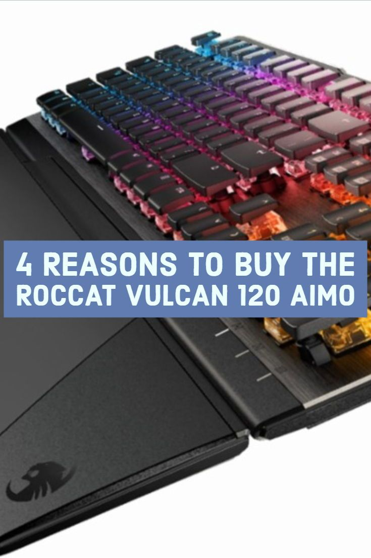 8809b54facf With custom Roccat key switches, elaborate RGB lighting, and a kitchen-sink  feature set, the Vulcan 120 AIMO mechanical gaming keyboard is well worth  the ...
