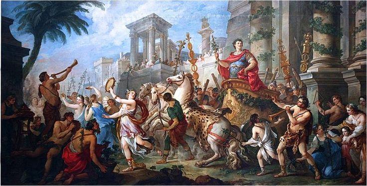 Story of Mark Antony - Entry of Mark Antony into Ephesus