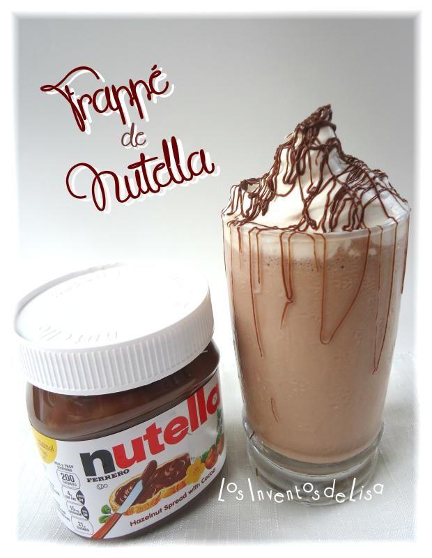 Los Inventos de Lisa: Frappé de Nutella