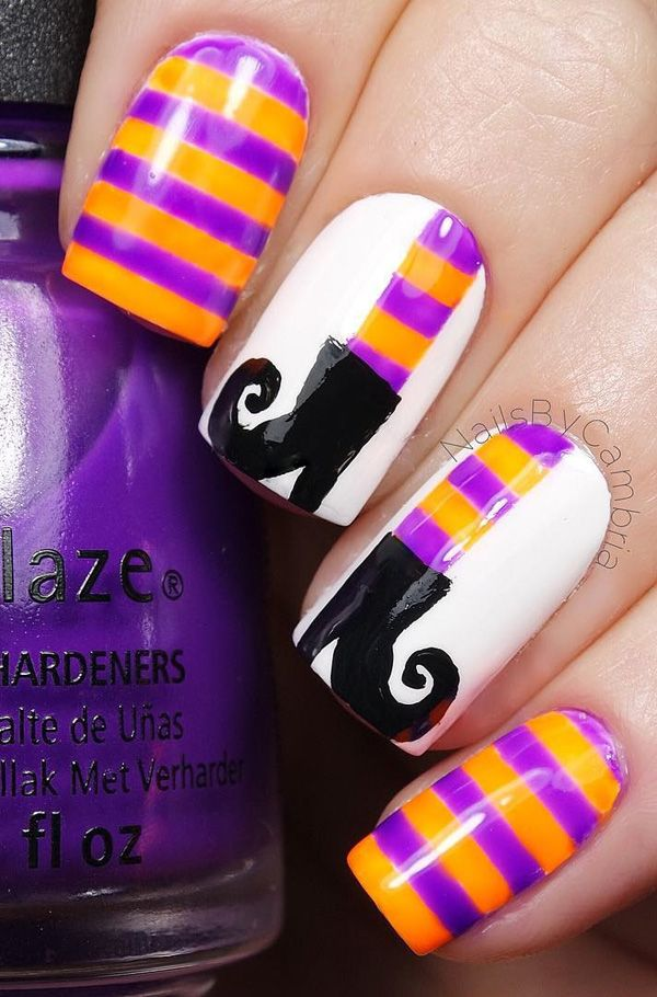 Best 25 halloween nail art ideas on pinterest halloween nail 65 halloween nail art ideas prinsesfo Choice Image